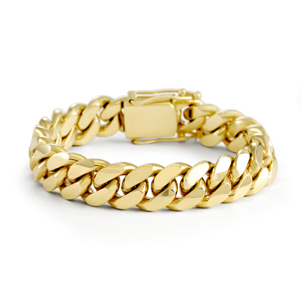 14mm Cuban Link Bracelet