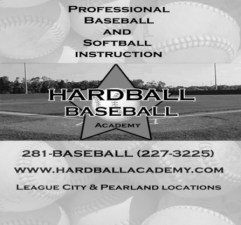 hardball logo with address
