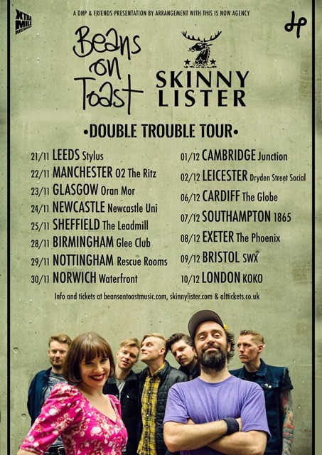 Skinny and Beans UK Tour 2017-1