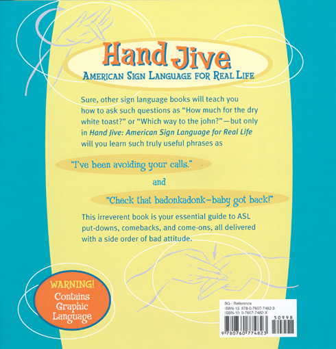 Hand Jive Book Back Cover!