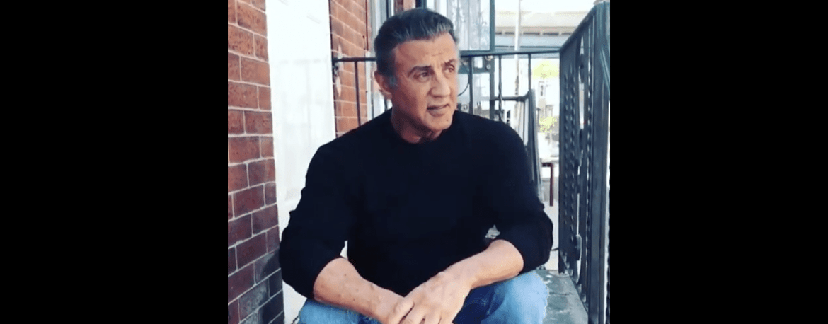 VIDEO: Sylvester Stallone Visits His Rocky Home in Philadelphia 40 Years Later