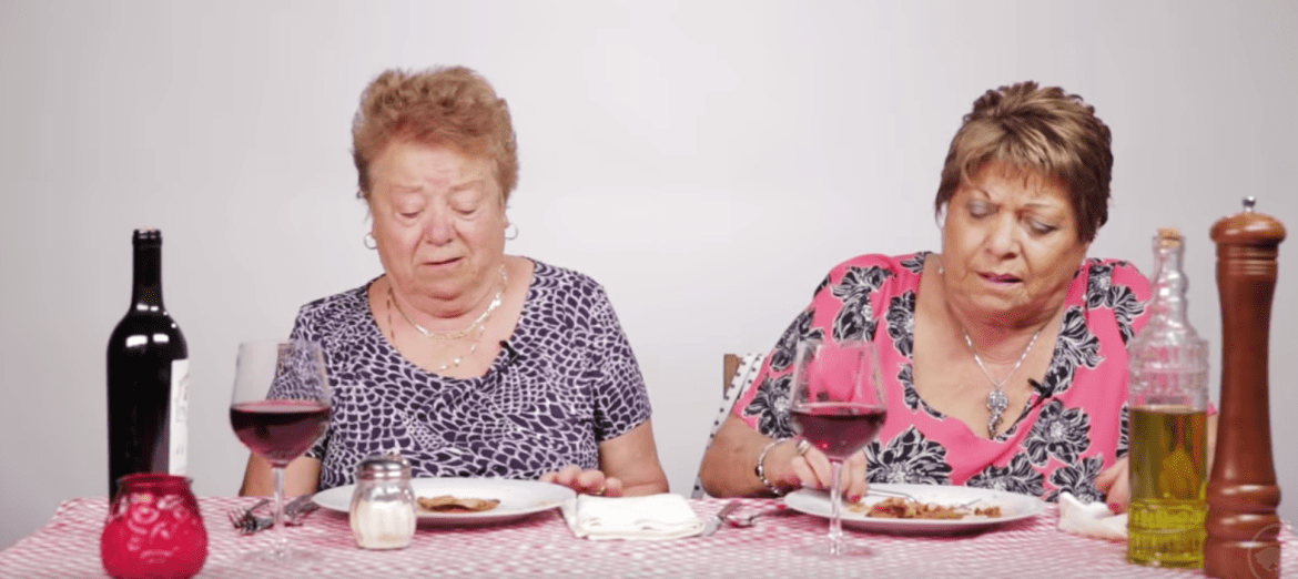 Hilarious Video: Italian Grandmothers Try Olive Garden