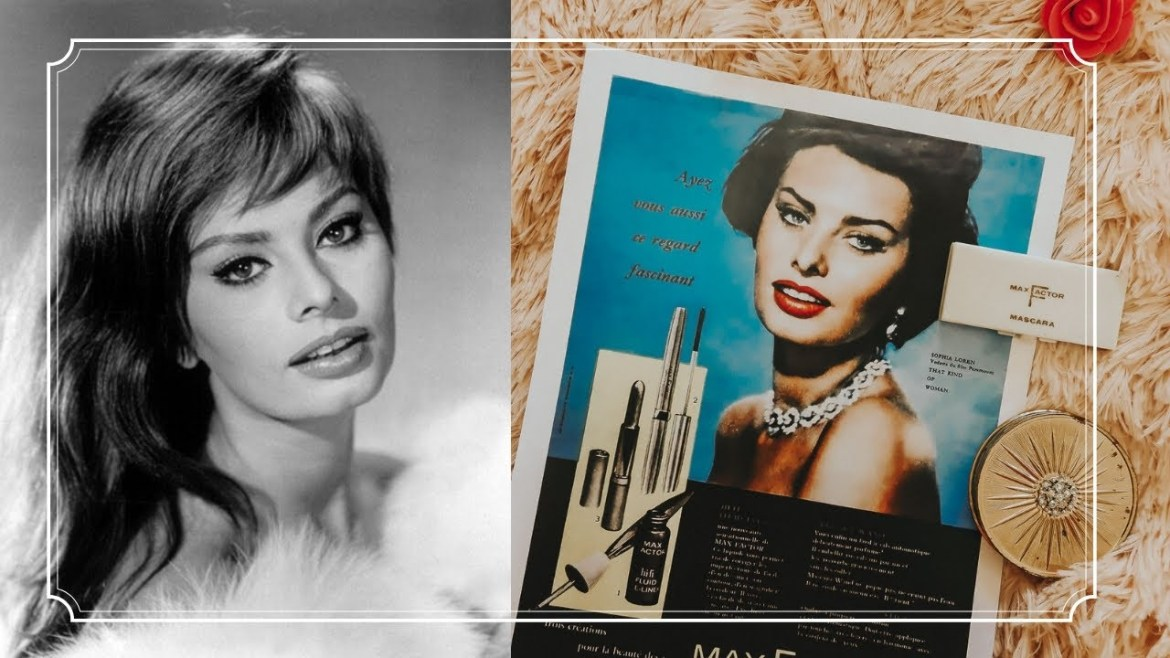 Sophia Loren's Favorite Beauty Products You Can Still Buy Today