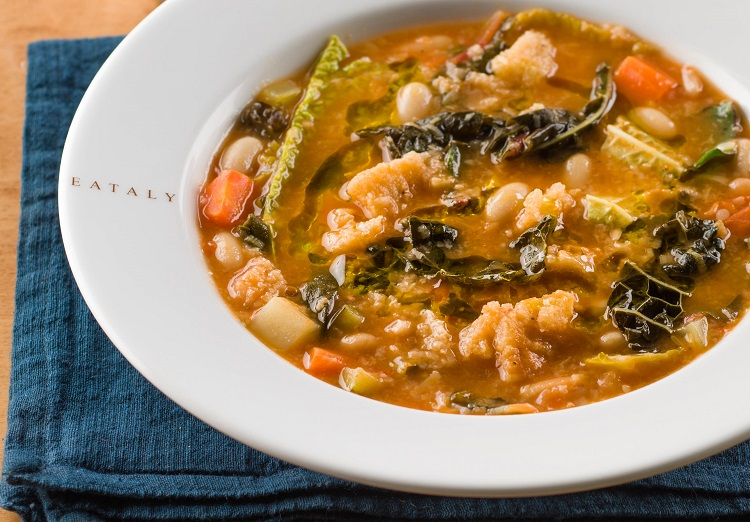 Tuscan Vegetable Soup – Ribollita Recipe