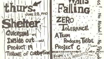 Vision-Quicksand-Mind War @ Lancaster PA 10-12-90 | Hardcore
