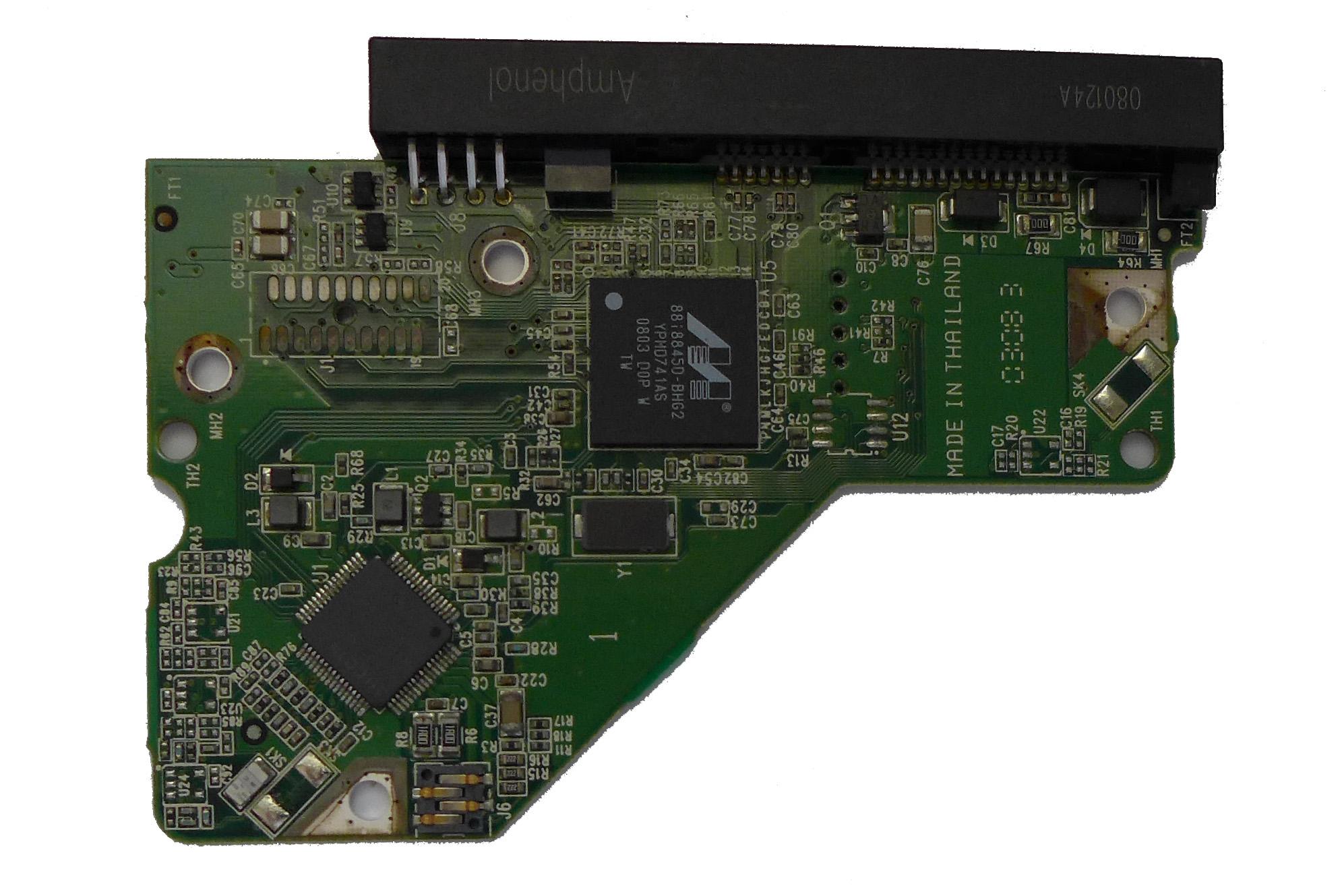 PCB WD5000AAJS-00A8B0 2061-701537-E00 02P 500GB Western