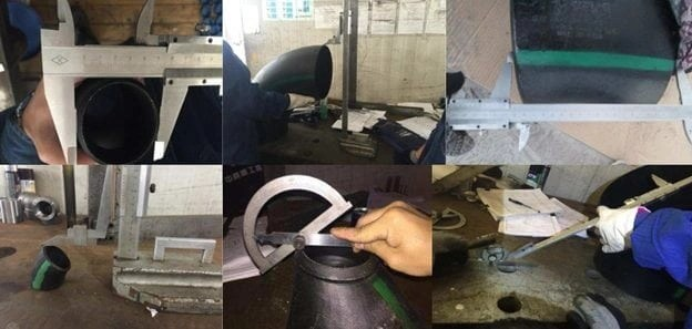 Pipe Fitting Dimensions Inspection