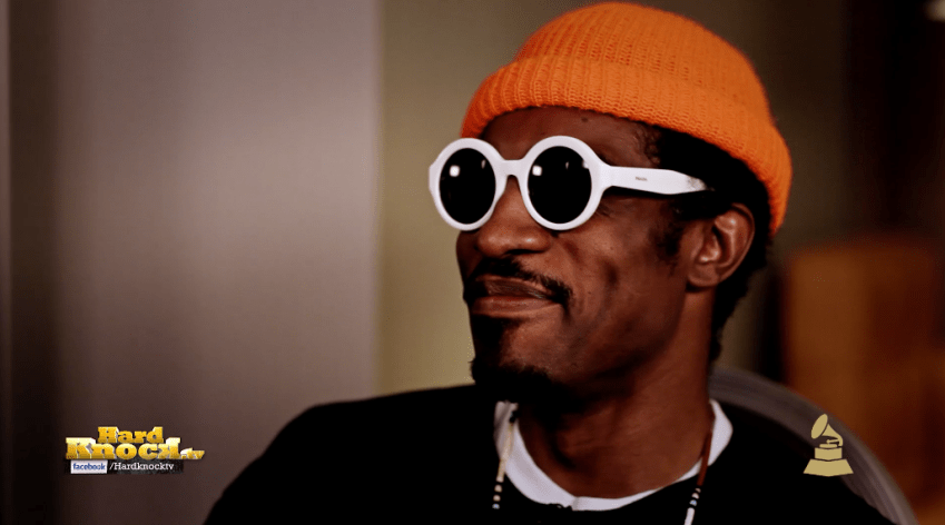 Andre 3000 Andre Benjamin interview by Nick Huff Barili The Grammys Hard Knock TV