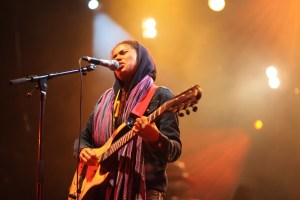 Nneka performance Shot by Nick Huff Barili documentary