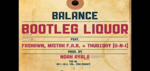 Balance Bootleg Liquor f. Fashawn, Mistah FAB & Thurzday (UNI)