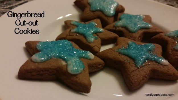 gingerbread cut-outs cookies