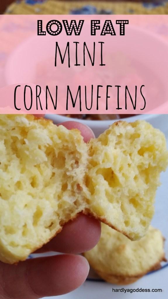 low fat mini corn muffins
