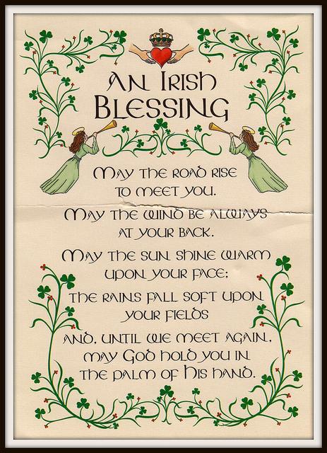 An Irish Blessing (Tiocfaidh ár lá 1916 CC BY-ND 2.0)
