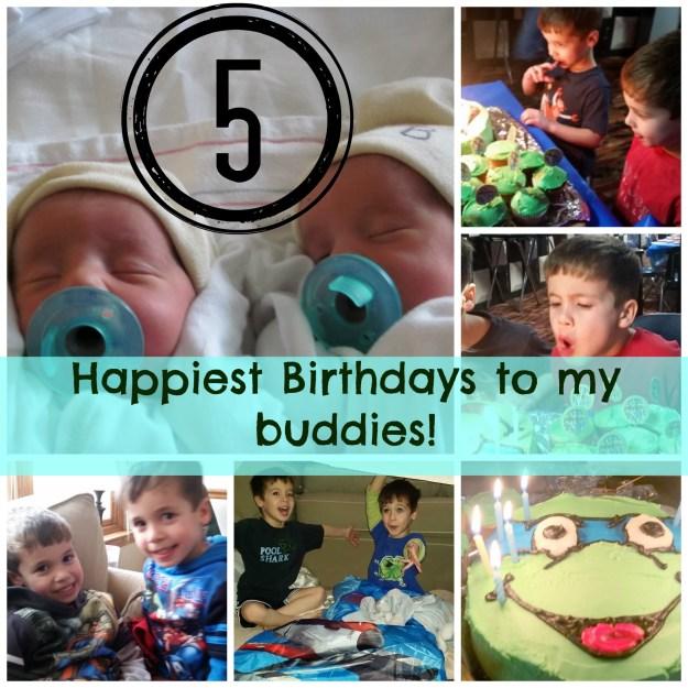 twin birthday