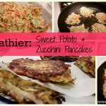 sweet potato and zucchini pancakes