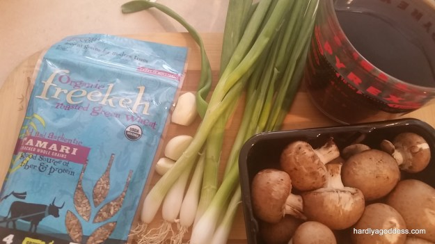 Freekeh Tamari & Mushroom