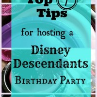 "How to Plan a 9-year old's "" Disney Descendants"" Themed Birthday Party"