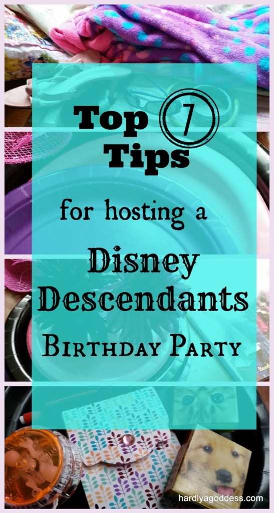 Disney Descendants 9-year old's birthday party