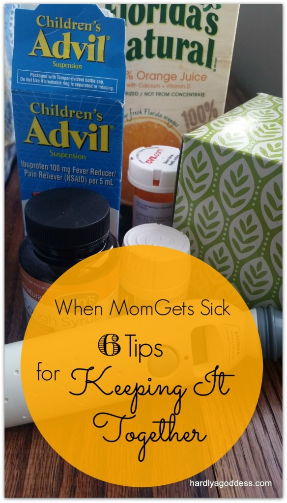 mom is sick- here are 6 good tips