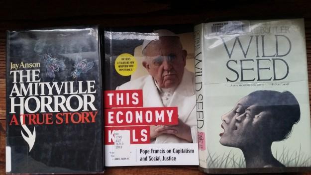 weird books I am reading