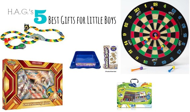 top 5 gifts for little boys