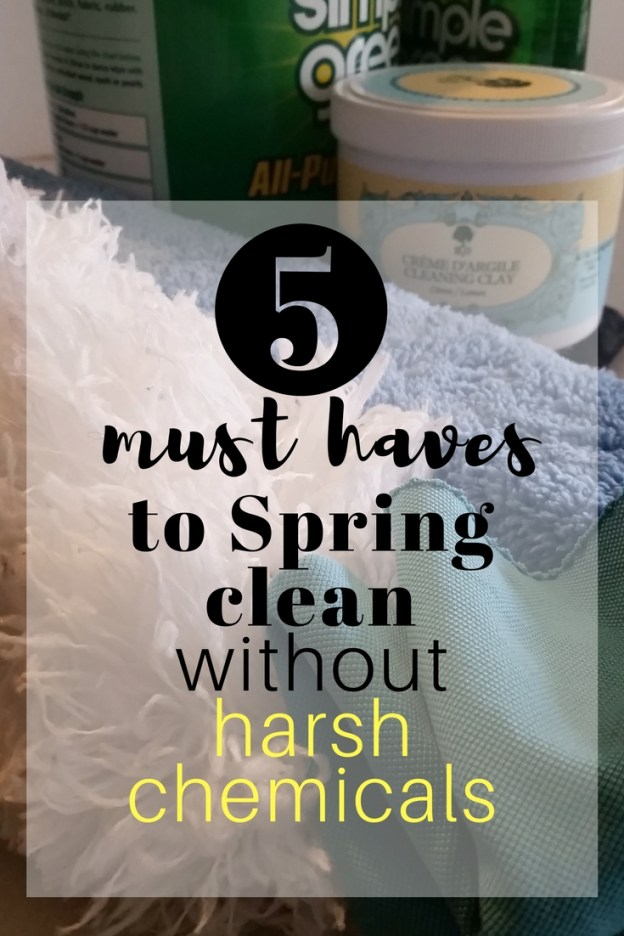 Spring clean without harsh chemicals
