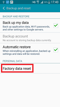 How to Hard Reset Lephone W7 Plus