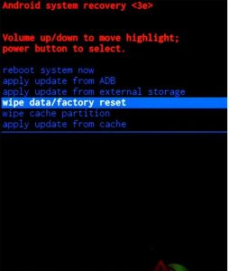 How to Factory Reset Samsung Galaxy Tab A S SM-T357W