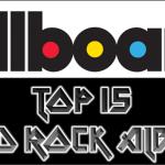 Billboard Top 15 Hard Rock Albums – 4/27/13