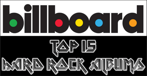 Billboard Top 15 Hard Rock Albums