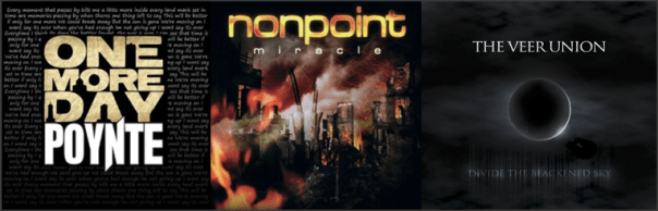 Three For Thursday - Poynte, Nonpoint, The Veer Union