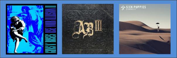 Three For Thursday - Guns N Roses, Alter Bridge, Sick Puppies