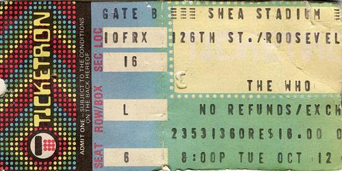 The Who Shea Stadium 1982