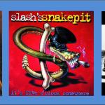 Three For Thursday:  Skid Row, Slash's Snakepit, Aerosmith