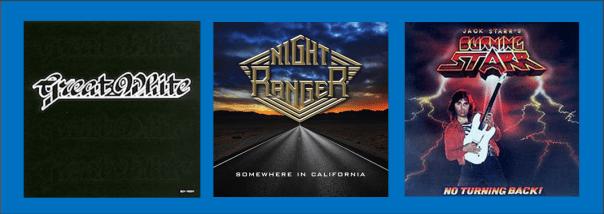 Three For Thursday - Great White, Night Ranger, Jack Starr's Burning Starr