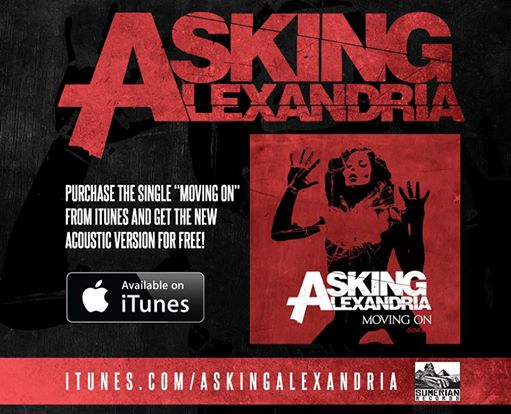 Asking Alexandria Moving On