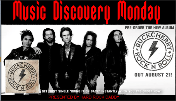 Music Discovery Monday - Buckcherry
