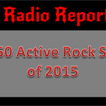 Top 50 Active Rock Songs of 2015: HRD Radio Report