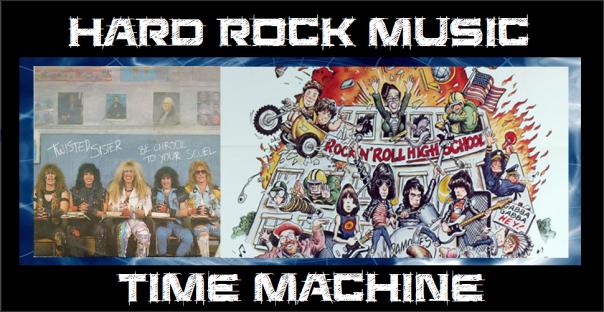 Hard Rock Music Time Machine - Twisted Sister - Ramones