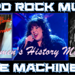 Hard Rock Music Time Machine – 3/30/17: Celebrating Women's History Month with Women in Rock