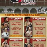 Paco Ureña y Ginés Marín, novedades del serial 2016 en Guadalajara
