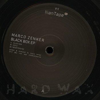 Cover art - Marco Zenker: Black Box EP