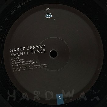 Cover art - Marco Zenker: Twenty-Three
