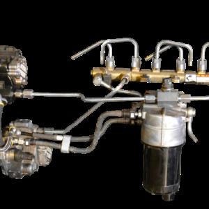 ATS Twin Fueler Pump Kit, 2010+ Dodge 6.7L without Pump-0
