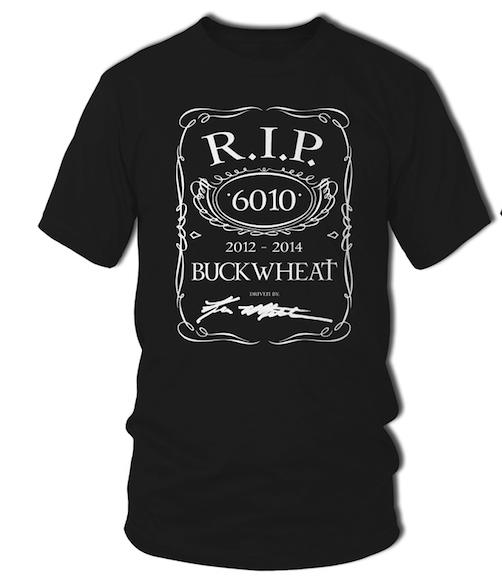 R.I.P. Buckwheat T-shirt-0
