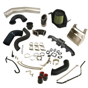 Cobra Turbo Install Kit w/S400 Secondary - Dodge 2003-2009 5.9L/6.7L -0