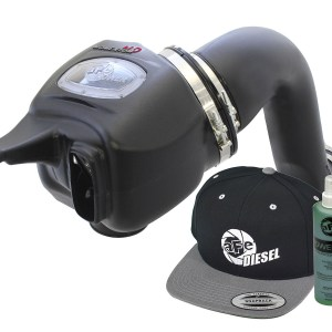 aFe POWER 51-72002-E Diesel Elite Momentum HD Pro DRY S Cold Air Intake System 2003-2007-0
