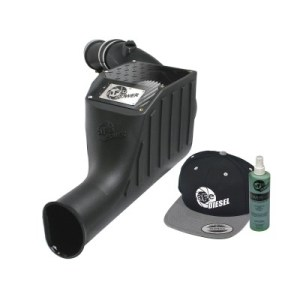 aFe POWER 51-81022-E Diesel Elite Stage-2 Si Pro DRY S Cold Air Intake System 2003-2007 6.0L-0