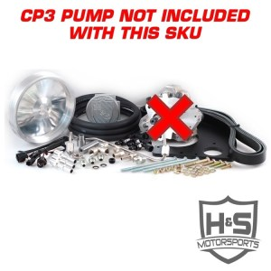 H&S Motorsports 11-16 Ford 6.7L Dual High Pressure Fuel Kit W/O CP3-0