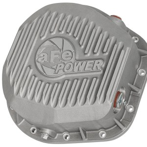 aFe POWER 46-70020 Rear Differential Cover, Raw Finish; Street Series-0